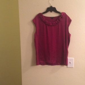 Women's Anne Klein Blouse Sz Lrg